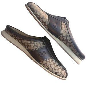Coach Nadia Mules Slide on shoes size 7